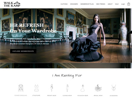 top brand fashion ecommerce website